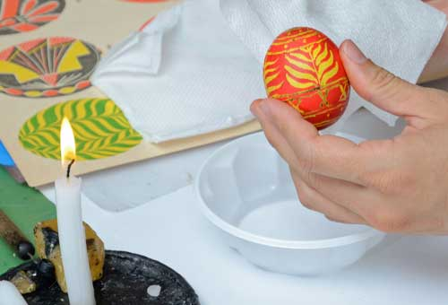 Batik Ornament Eggs